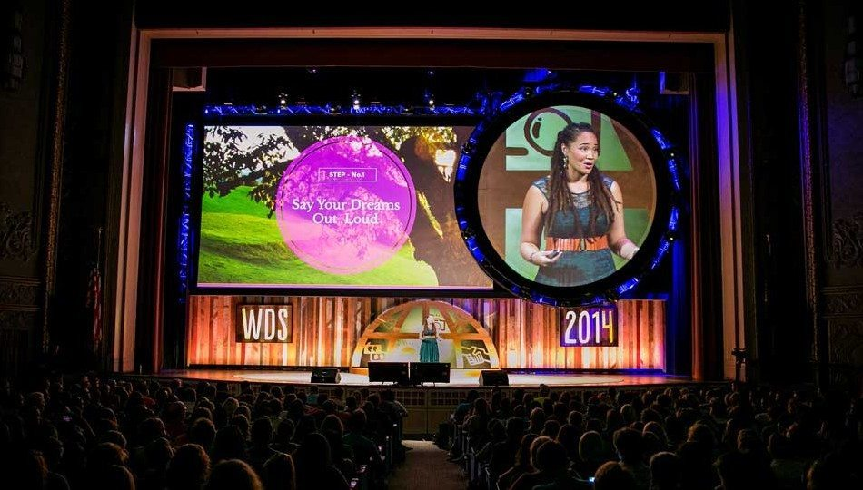 The gorgeous WDS stage (courtesy Chris Guillebeau)