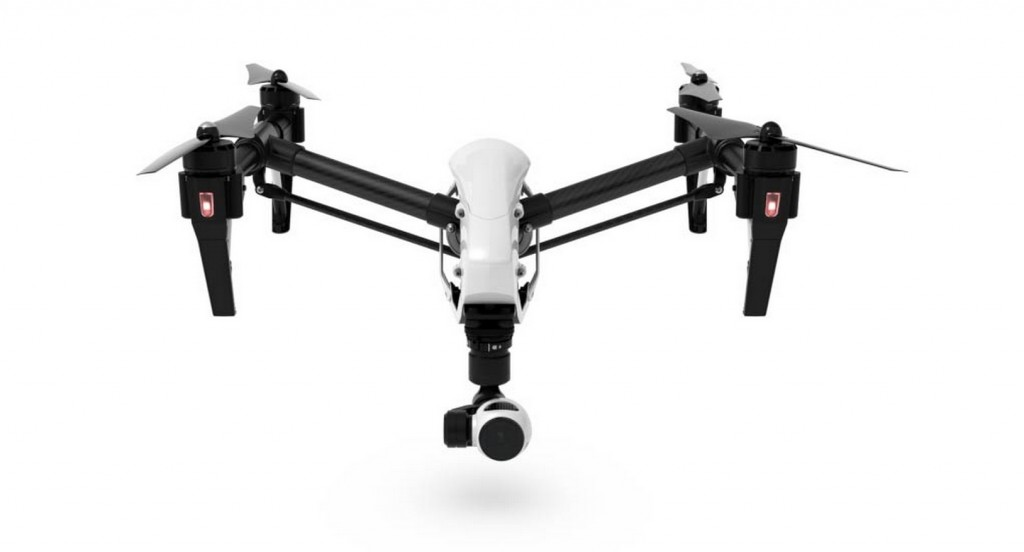 Inspire 1 with gear up