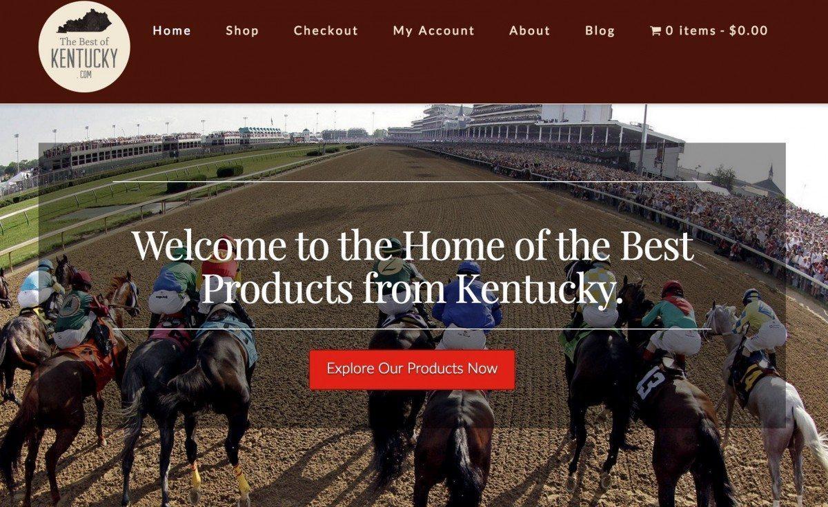 thebestofkentucky.com homepage